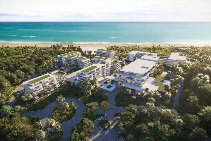Imagen de proyecto del resort de Platinum y W en Marbella